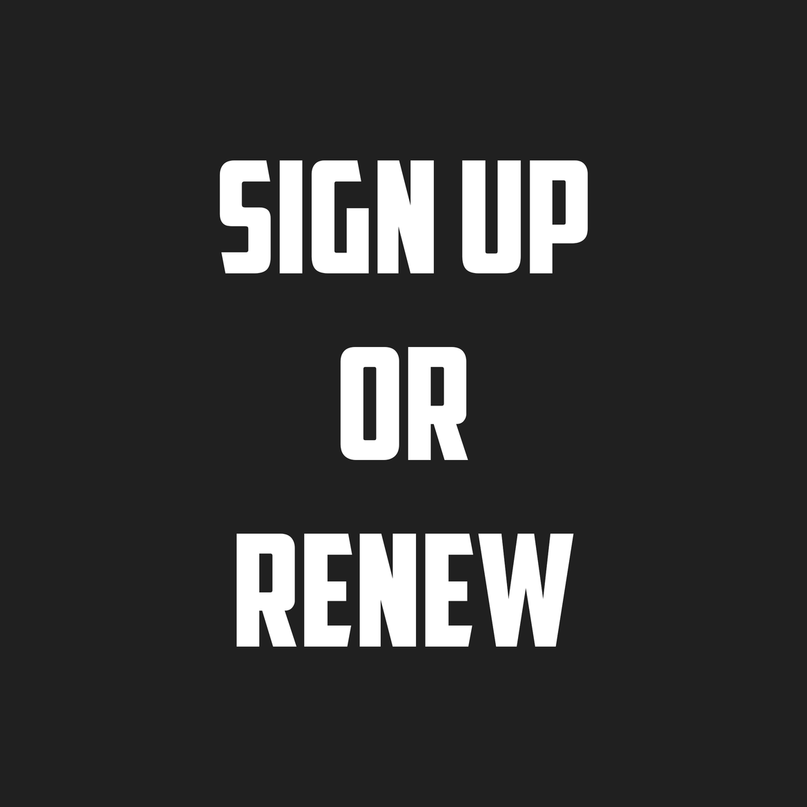 Join or Renew Online